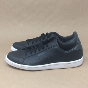 5533681bfcd PUMA Mens Smash Perf Leather Sneakers B K